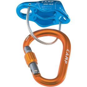 Camp Più 2.0 Belay Kit, orange/blå